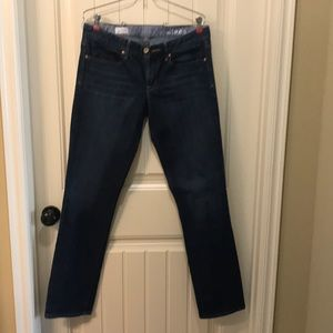 Gap Real Straight blue jeans size 31/12r